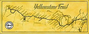 Mapy of the Yellowstone Trail