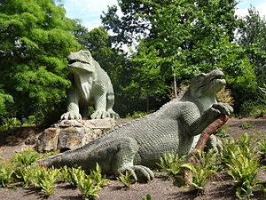The Crystal Park Dinosaurs