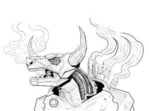 The Steam-Powered Minotaur