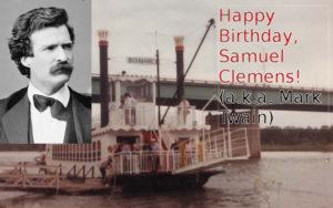 Mark Twain & Riverboat