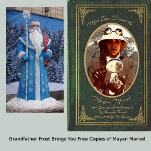 Miss Ione D and Grandfather Frost